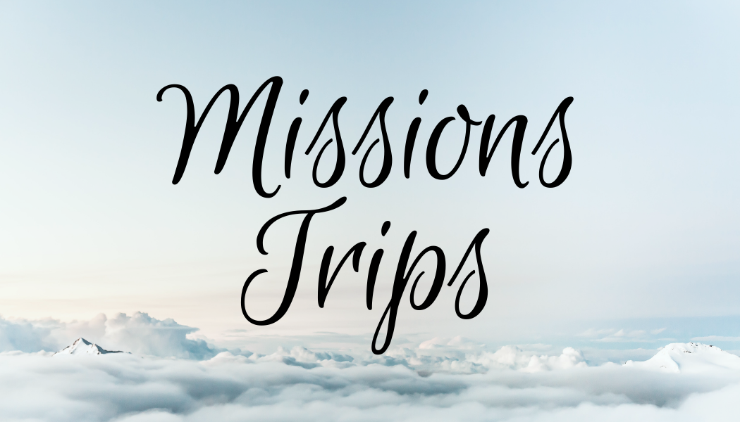 donate mission trips